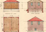 , Architect Stacey Arthur Neave drew up this detailed plan for a motor garage for his own home at 6 Wycombe Road, Neutral Bay, in 1938. Stanton Library