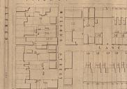 , This 1890s block plan shows the streets of Milsons Point densely packed with terrace houses built near the tram line and ferry terminal a short distance away. All these houses were demolished in the 1920s to make way for the Sydney Harbour Bridge. Stanton Library