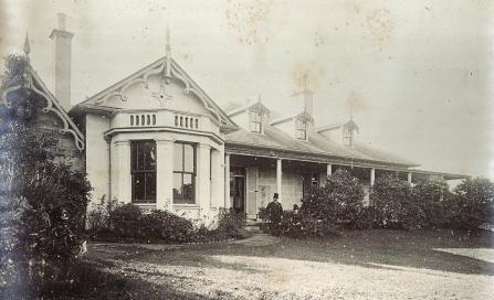 , Front view of 'Clifton', 1888. Stanton Library