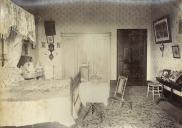 , Fanny's bedroom, 'Clifton', 1888. Stanton Library