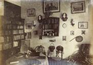 , Fanny's sitting room, 'Clifton', 1888. Stanton Library