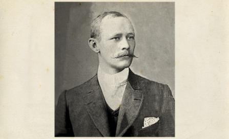 , Edward Jeaffreson Jackson around 1900. Courtesy of Michael Brothers