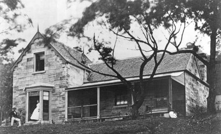 , The Gothic marine villa 'Greencliffe' was built in Kirribilli by Mary Paul between 1858 and 1866. It was dramatically altered and turned into flats in the 1920s and further redeveloped in the 1950s. The remaining structure was demolished in 1993. Photograph by Robert Hunt. Macleay Museum