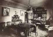 , Dining room, 1908-1918. Stanton Library