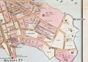 , 'Sunnyside' is shown on this 1887 map just by the name of its owner 'Hunt'. The neighbouring villas are all named. Stanton Library